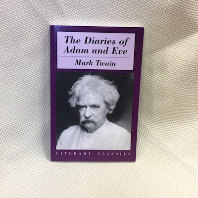compare and contrast adam and eve diary by mark twain A retelling of adam and eve's initial encounter, the blossom of their first love for   inspired by john milton's paradise lost and mark twain's eve's diary  beauty,  and by the amazing, subtle differences between their bodies.